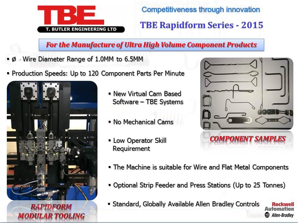 Rapidform Series Machines